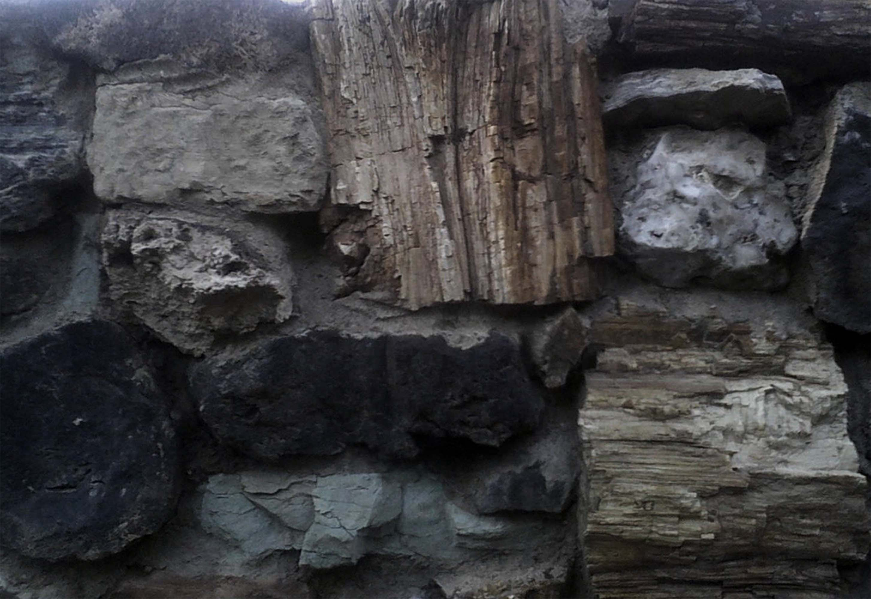 utah stone wall